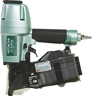 Hitachi Coil Siding Nailer, Siding Nails 1-1/2 inch To 2-1/2 inch, Side load, Tilt Bottom..