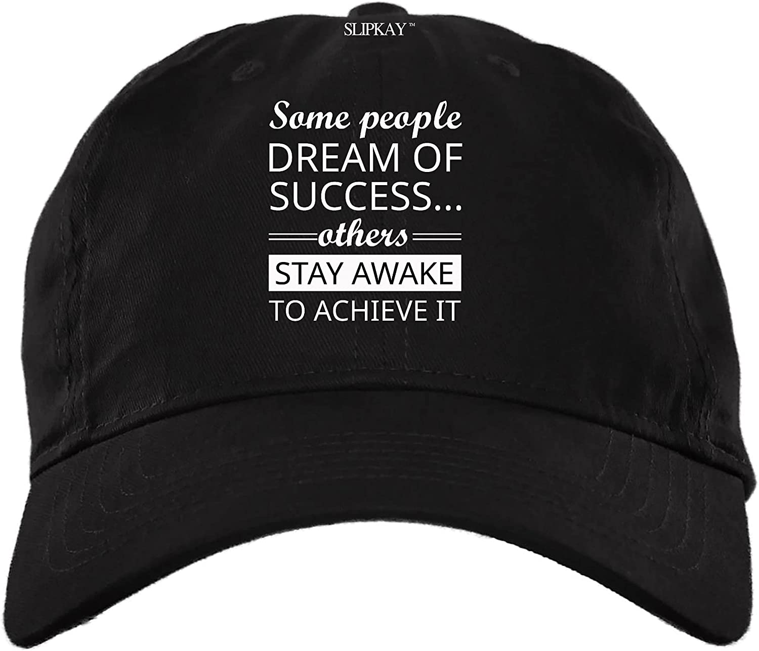 GAMILAN Some People Dream of Success Others Stay Awake to Achieve It Hat,Dad Cap