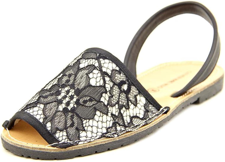 Carmen Marc Valvo Honor Women US 8 Black Slides Sandal