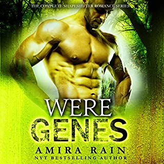 WereGenes: The Complete Paranormal Romance Bundle                   Written by:                                                                                                                                 Amira Rain                               Narrated by:                                                                                                                                 Charlie Boswell                      Length: 24 hrs and 48 mins     Not rated yet     Overall 0.0