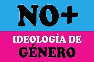 magFlags Large Flag No + Ideología de Género | No + Ideología de Género usada en Chile | Landscape Flag | 1.35m² | 14.5sqf...