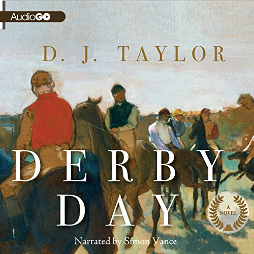 Derby Day audiobook cover art