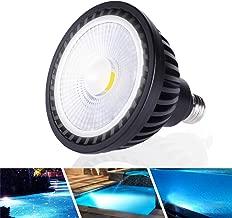 Wiyifada LED Pool Light Bulb 45W 120V 6000K Daylight White LED Swimming Pool Light Bulb E26 Base Replaces Up to 200-600W Traditionnal Bulb