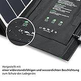 RAVPower 24W Solarladegerät mit 3 USB - 3