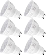 TORCHSTAR Dimmable MR16 GU10 LED Light Bulb, 7.5W (75W Equivalent), Energy Star, UL-Listed, 5000K Daylight, 40° Beam Angle, 600Lm, Track Lighting, Recessed Light, 3 Years Warranty, Pack of 6