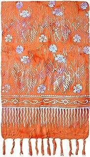 Turtle Island Imports Flower & Stems Batik Sarong