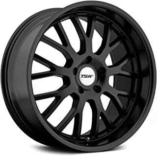 TSW Tremblant Wheel with Matte Black Finish (17 x 8. inches /5 x 100 mm, 35 mm Offset)