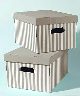 Compactor - Set de 2 Cajas « Shirt », taupe
