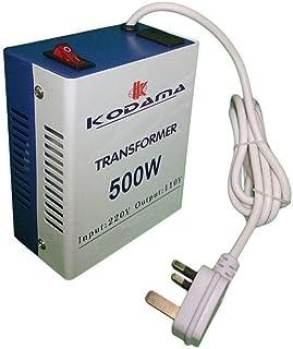 KODAMA Transformer 220V to 110V Power Converter 500 Watt KOT500W UK Power PLug