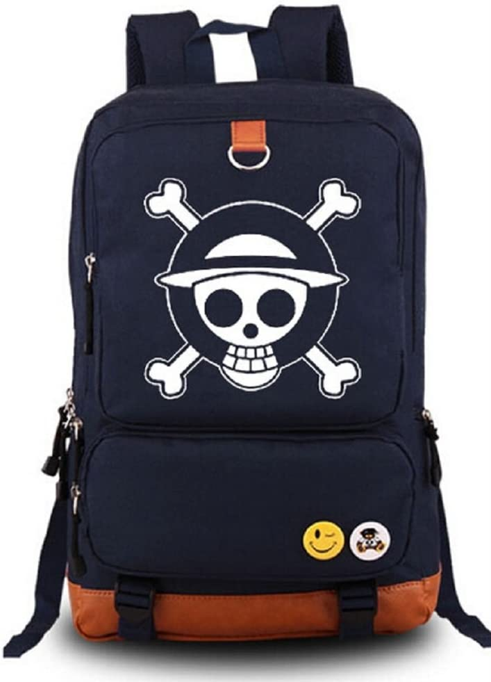 Siawasey Anime One Piece Popular popular Cosplay Messenger Bag Luminous Backpack Max 53% OFF