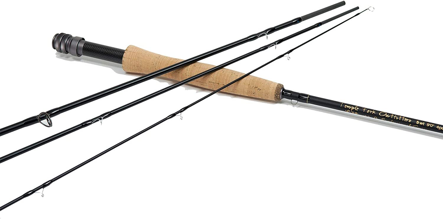Temple Fork Outfitters TFO Lefty Kreh Professional Series II Braided Graphite Fly Fishing Rods