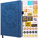 Law of Attraction Planner - Undated Deluxe Weekly & Monthly Life Planner to Achieve Your Goal. A 12 Month Journey to Increase Productivity & Happiness -Organizer & Gratitude Journal+Stickers
