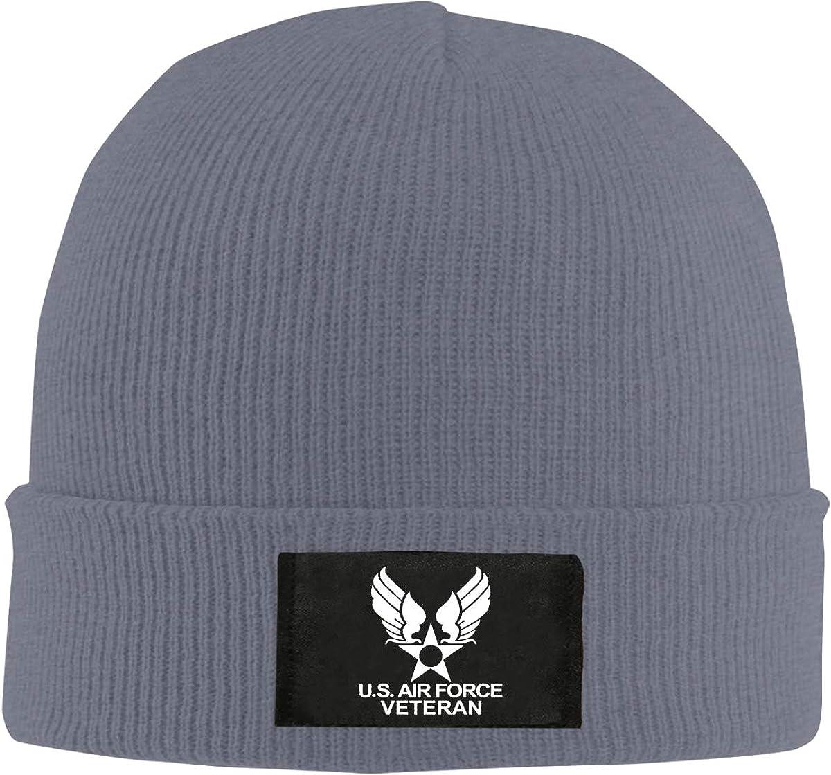 ZHIJIKNITHAT US Air Force Veteran Unisex Warm Be Washington Mall Knit Special sale item Hat Winter