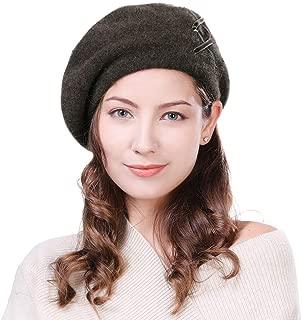 Yakwool&Wool Artist French Beret Director Paris Cap Ladies Soft Warm Classic