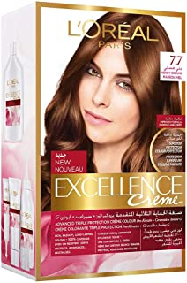 L'Oreal Paris Excellence Creme - 7.7 Marron Miel