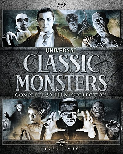 Universal Classic Monsters: Complete 30-Film Collection Blu-ray Now $69.99 (Was $149.98)
