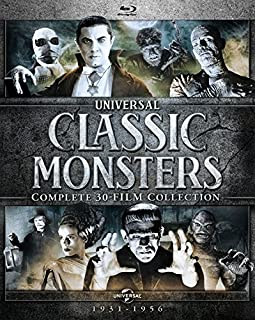 Universal Classic Monsters: Complete 30-Film Collection [Blu-ray] (B07DKY35N5) | Amazon price tracker / tracking, Amazon price history charts, Amazon price watches, Amazon price drop alerts