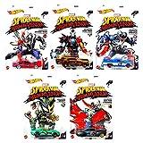 Venomized Exclusive Marvel Maximum Venom Series Bundled with Captain America / Spider-Man / Iron Man / Doctor Strange / Groot 5 Items