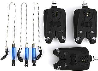 VGEBY Alarmas de mordedura de pez Juego de Swinger Accesorio de Alta sensibilidad Alarma de Pesca electrónica + Juego de S...