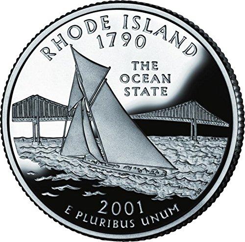 2001 Rhode Island – D State Quarter Roll