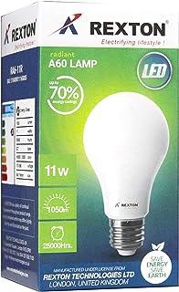Rexton LED Bulb A60 11 Watt, White, RA60-11