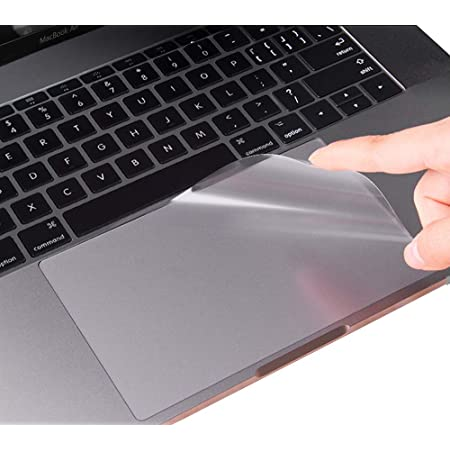 CaseBuy MacBook Air 13 Inch Trackpad Protector Cover Compatible 2020 2019 2018 Release MacBook Air 13 Inch with Touch ID Model A2337(M1) A2179 A1932 Clear Anti-Scratch Trackpad Skin