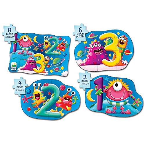 The Learning Journey Kit Mon Premier Puzzle 4-en-1 ! 123