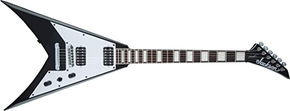 Jackson X Series Signature Scott Ian King V KVXT Electric Guitar (Gloss Black, Rosewood Fingerboard)