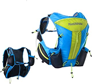 Tentock 12L Waterproof Functional Running Vest Pack Ultralight Hydration Backpack for Running Cycling Marathon
