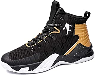 Mens Personal Basketball Shoes Trainers High Elastic Shock Technology New KPU+Fabric Lightweight Air Precision Basketball ...