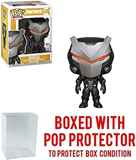 Omega: Funko Pop! Games Vinyl Figure Bundle with 1 Compatible 'ToysDiva' Graphic Protector (435 - 36017 - B)