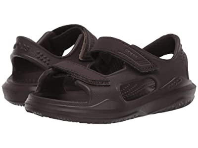 Crocs Kids Swiftwatertm Expedition Sandal (Toddler/Little Kid/Big Kid) (Espresso/Khaki) Kid