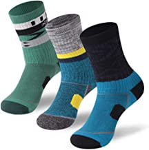 Cushion Hiking Socks,Forcool Men's Women's Arch Support Sports Crew Socks,1/3 Pairs