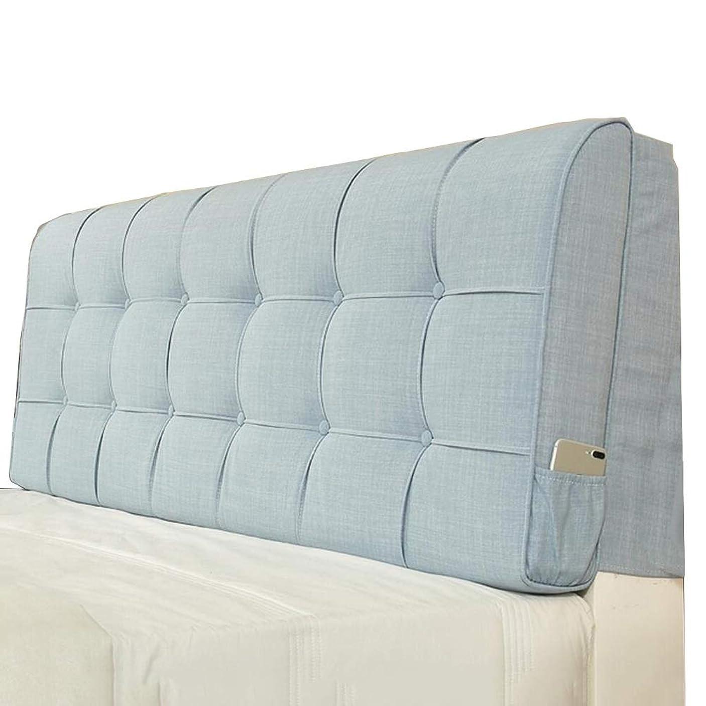 しわ面積パラメータLIANGLIANG クッションベッドの背もたれ ベッド読書枕背もたれクッション洗えるウエストサポート布、 5色、9サイズ (色 : ブロンズ, サイズ さいず : 190X58X10cm)