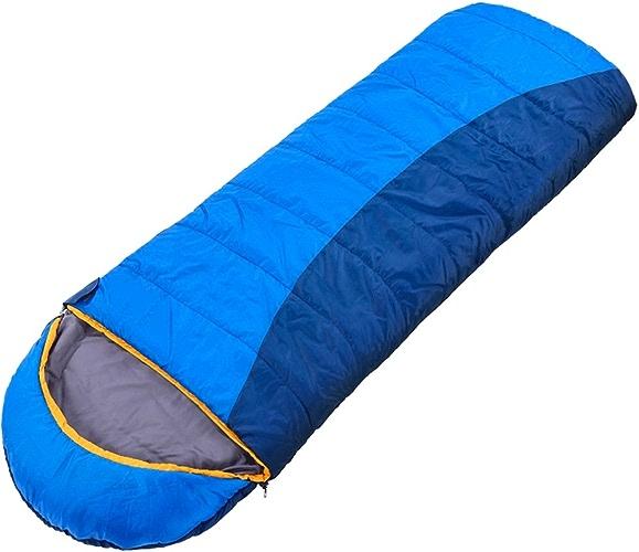 LWFB Enveloppe Sac de Couchage   Collectibles   Adultes   Camping Randonnée en Plein Air épaissir Coton Rectangulaire Sac de Couchage (200  70cm)