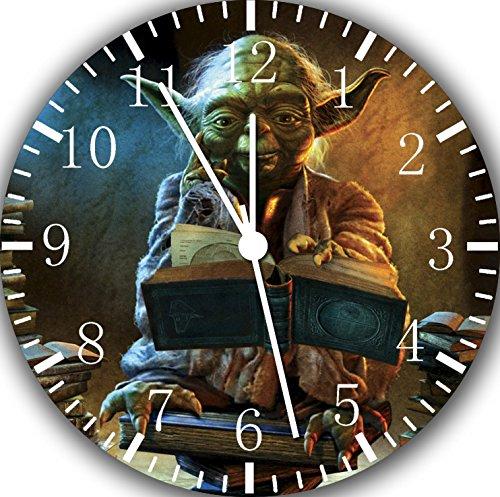 Yoda Star Wars Wanduhr 25,4 cm Will Be Nice Gift und Raum Wand Decor E416