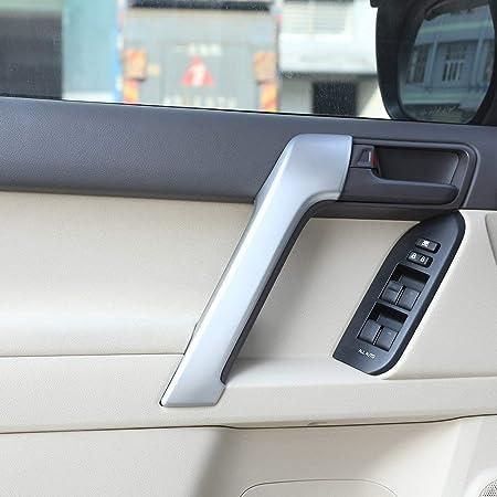 Mirror Inner Interior Inside Door Handle Cover Frame Trim for Toyota LC120 Prado