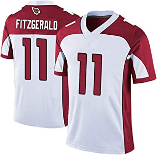 Franklin Sports Arizona Cardinals #11 Larry Fitzgerald White Limited Game Jersey for Men Women Youth