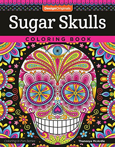 10 best coloring for adults sugar skull for 2020