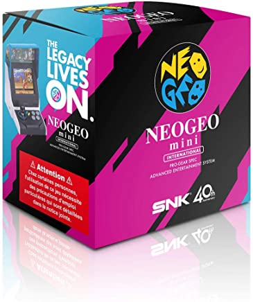Neogeo Arcade Mini International c/ 40 jogos