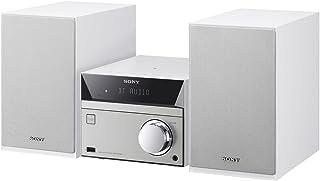 ソニー SONY マルチコネクトミニコンポ CMT-SBT40 : Bluetooth/FM/AM/ワイドFM対応 ホワイト CMT-SBT40 W