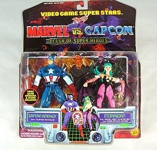 Marvel Vs. Capcom Captain America vs. Morrigan