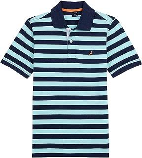 Boys' Short Sleeve Striped Deck Polo Shirt