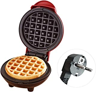 Waffle Maker, Pancake Maker, Mini Waffle Iron Machine, Electric Cake Maker for Pancakes Cookies, Non Stick Coating, Deep C...