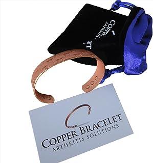 Men's Heavyweight Copper Bracelet for Arthritis – Guaranteed 99.9% Pure Copper..