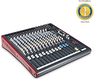 Allen & Heath ZED-16FX Multipurpose USB Mixer with FX & 1 Year Free Extended Warranty