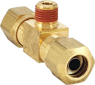 Parker VS68AB-12-8 Air Brake D.O.T Tube to Pipe Brass Compression Style Fitting Compression Connector 3//4 and 1//2 3//4 and 1//2