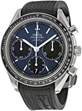 Omega Speedmaster Racing Automatic Chronograph Blue Dial Stainless Steel Mens Watch 32632405003001