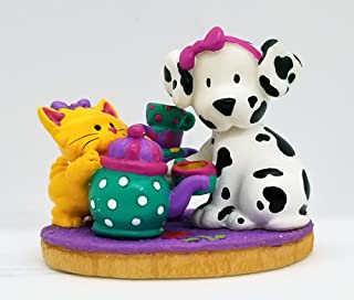 Sanrio Spottie and Dottie Sassy Tea and Me Party Figurine MIB Retired 1997
