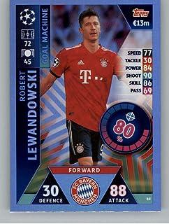 Topps liga Chrome 2019-Robert Lewandowski nº 1